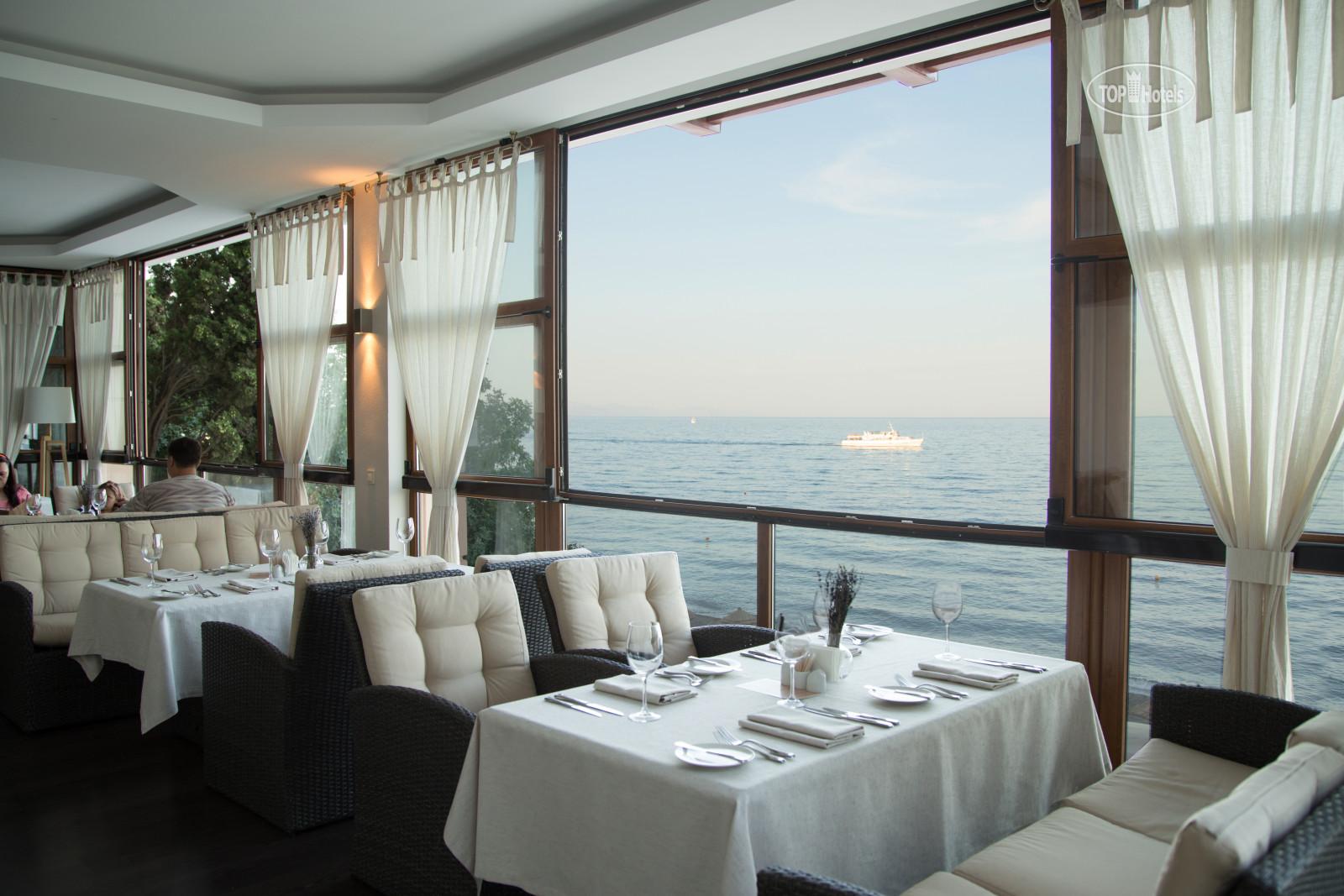 Ресторан кафе в крыму на берегу моря