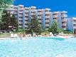Болгария. отели Албена. открытый бассейн. ванна. теннисные корты.