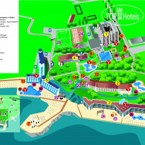 Фото отеля Rоubin (Рубин) 4* Map of Grand Hotel Varna & Resort