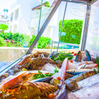 Фото отеля Renaissance Sharm El Sheikh Golden View Beach Resort 5* Fresh catch from the sea direct to your plate at Calamari Seafood Restaurant.