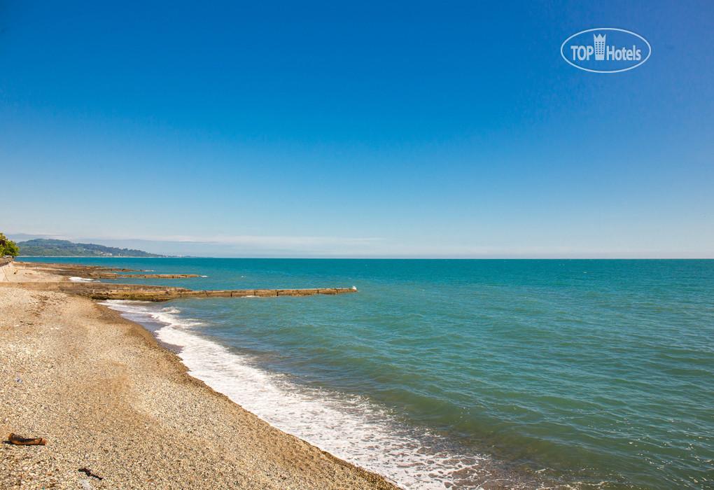 Новый афон отели на берегу моря