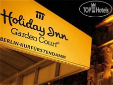 Holiday Inn Garden Court Berlin - Kurfurstendamm 4*