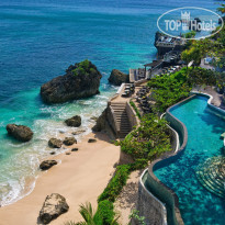 Фото отеля AYANA Resort and Spa Bali 5* Вид с площадки СКАЙ на Пляж КУБУ
