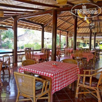 Фото отеля Bali Lovina Beach Cottage 3* Ресторан