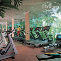 Shangri-La Singapore 5* Fitness Center - Фото отеля