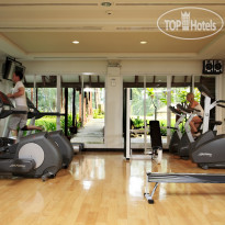 Фото отеля Dusit Thani Laguna Phuket 5* A fully equipped Fitness Room provides a venue for those seeking to maintain their exercise regime while vacationing