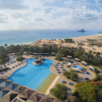 Miramar Al Aqah Beach Resort 5* Areal View - Фото отеля