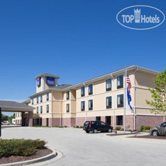 Sleep Inn & Suites Airport Milwaukee 2*