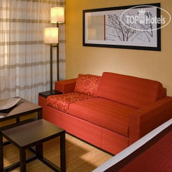 Номера Courtyard by Marriott Indianapolis Airport