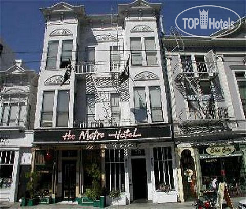 Фотогалерея отеля Metro 1* (США/Сан-Франциско (Калифорния)).  Рейтинг отелей и гостиниц мира - TopHotels.