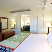 Фото отеля Fairfield Inn & Suites Hickory 2*