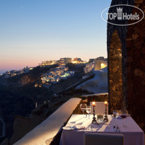 Фото отеля Canaves Oia 5* Petra Gourmet 2 tables restaurant
