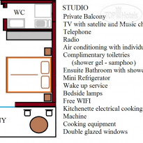 Фото отеля Athena 3* Studio Room Plan