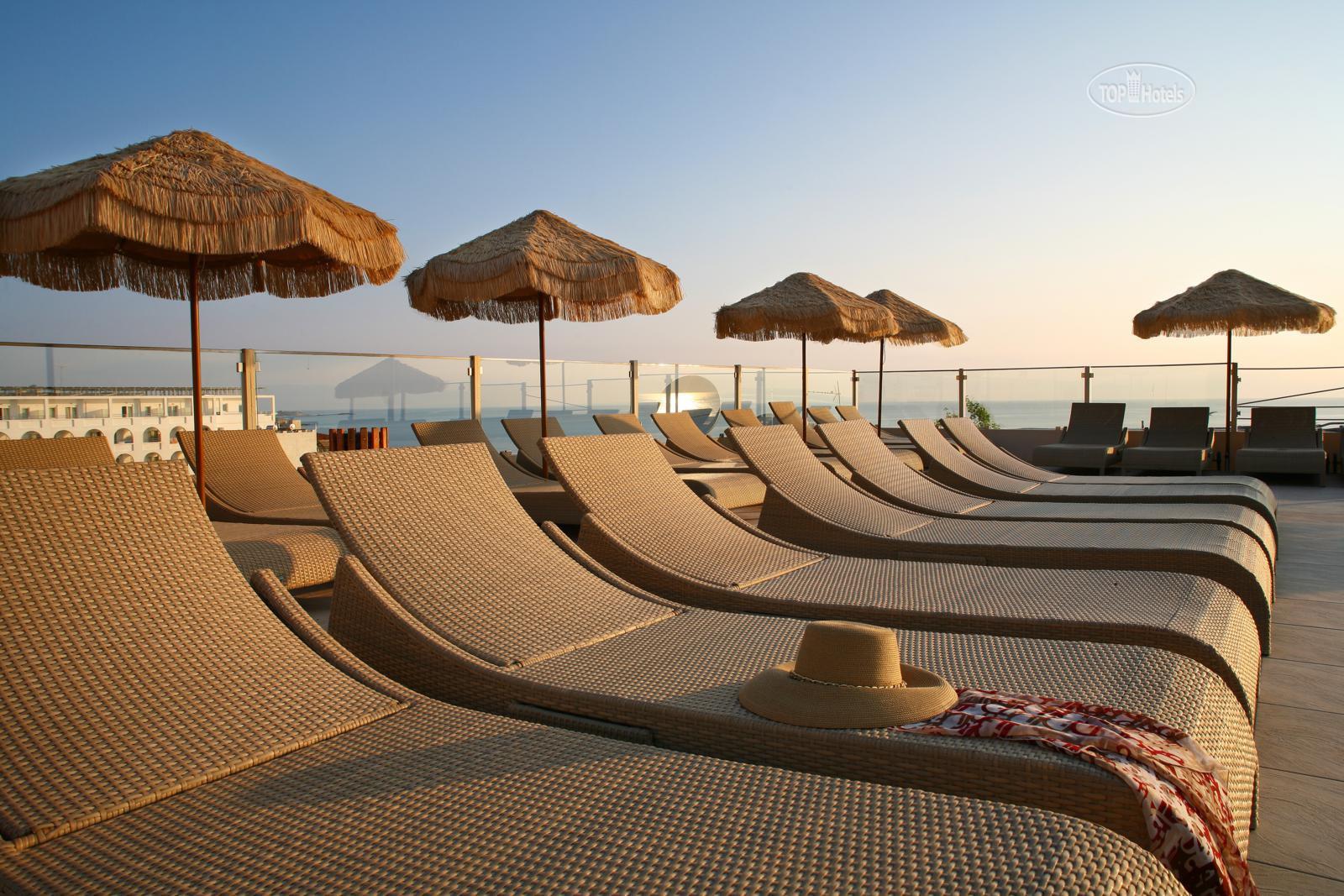 Пляж golden beach крит фото