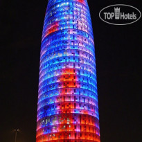 Фото отеля Glories Barcelona 3* Torre Agbar Night