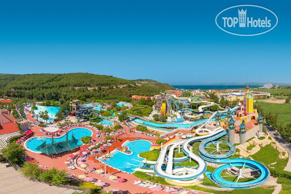 Aqua fantasy aquapark hotel spa 5 турция кушадасы