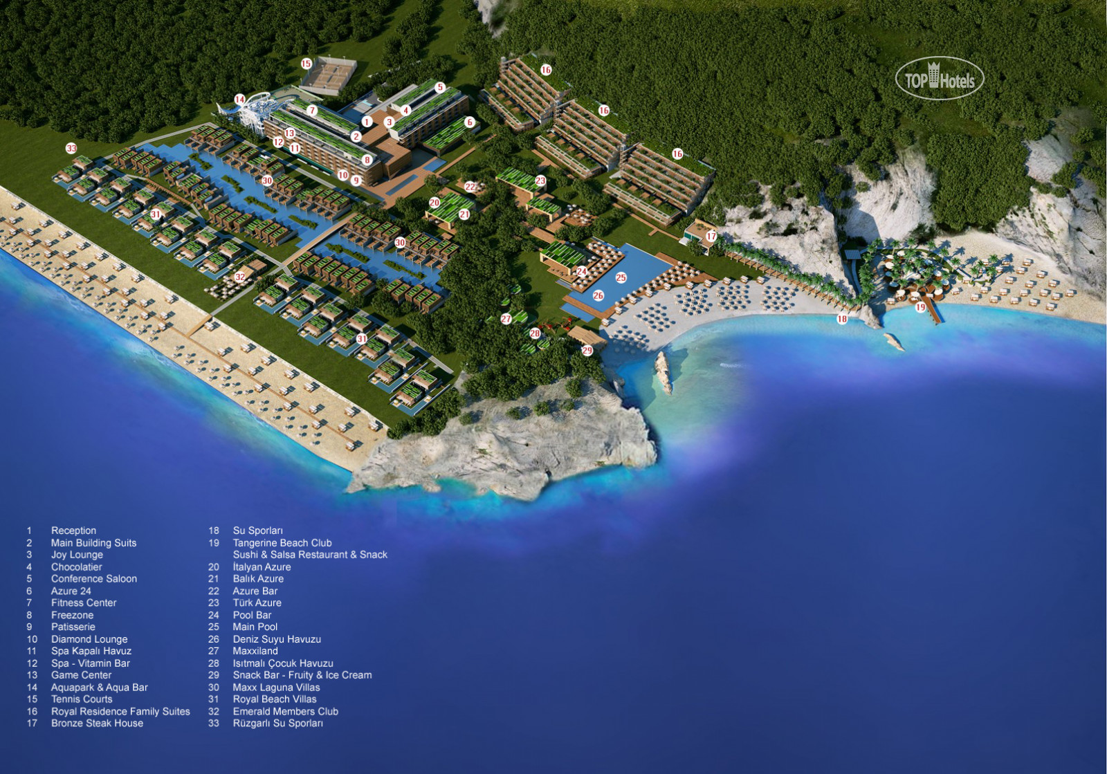 All photos Hotel map Maxx Royal Kemer Resort Spa 5 Rating