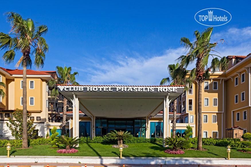 Club Hotel Phaselis Rose 5 На Карте