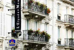 Best Western Paris Gare Saint Lazare (ex.Best Western Elysees Paris Monceau) 3*