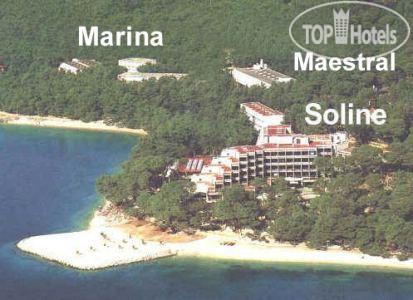 Отель марина брела хорватия