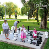 Фото отеля Agricola 4* Hotel Agricola - outdoor chess