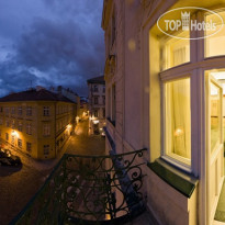 Фото отеля Hastal Prague Old Town 4* LOCATION View of hastal Square from the hotel hastal prague old town room