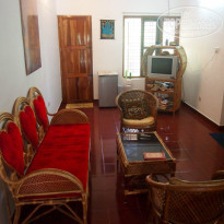Фото отеля Ganesh House Home Stay зона отдыха на втором этаже