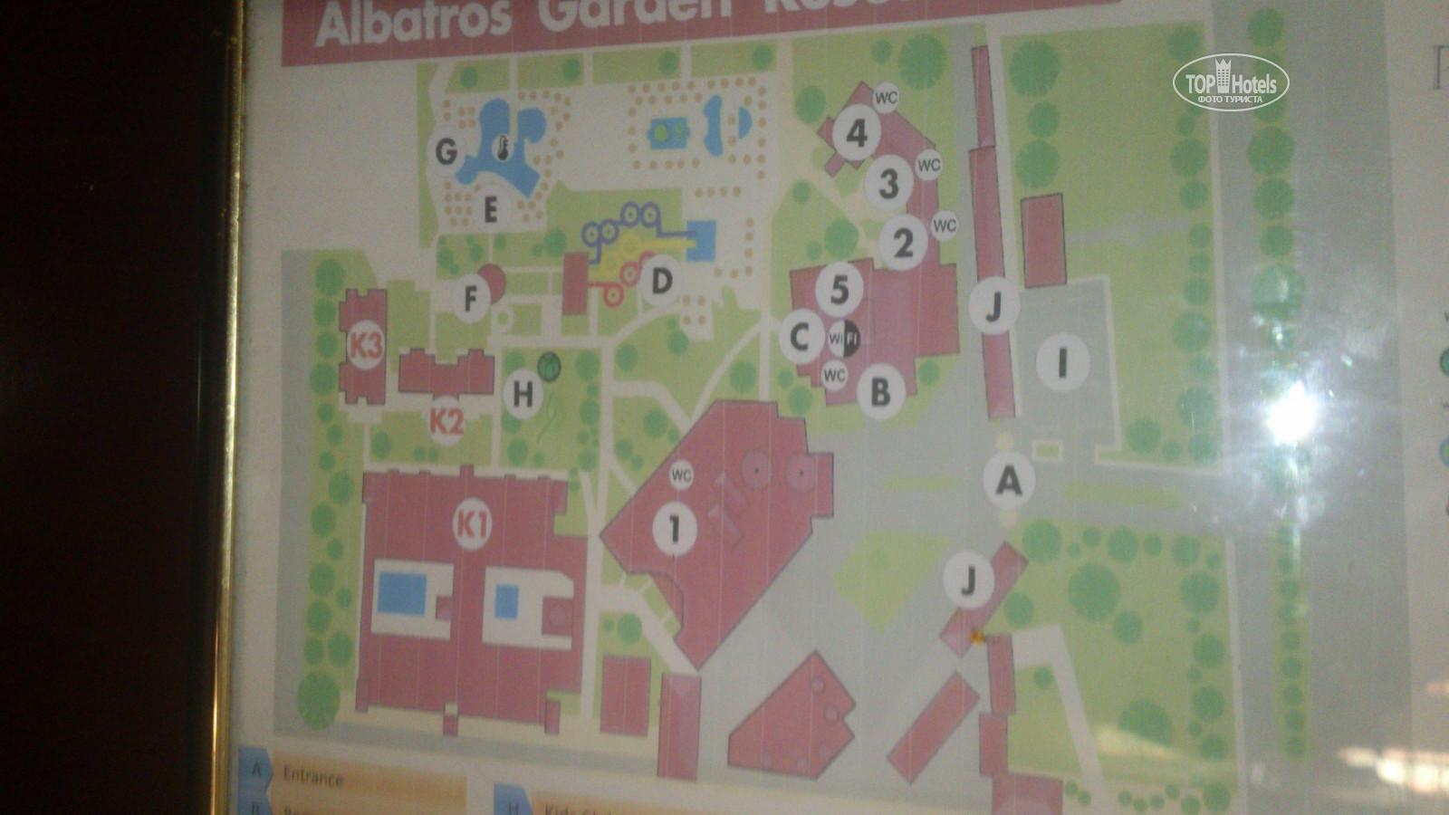 All photos: Hotel map отеля Albatros Aqua Park 4*. Rating of world ...