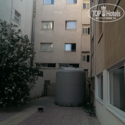 Территория отеля Palm Sea Holiday Beach Apartments