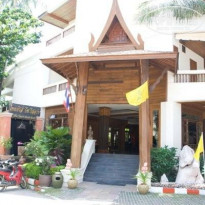 Фото отеля Thai House Beach Resort 3* вход в отель