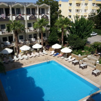 Фото отеля Club Herakles 3* вид с балкона 4го этажа