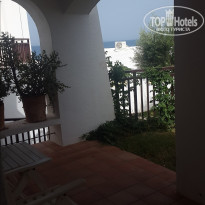 Creta Maris Beach Resort 5* Вид из Deluxe Bungalow Garden View - Фото отеля