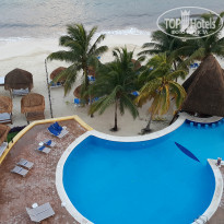 Фото отеля Melia Cozumel All Inclusive Golf & Beach Resort 5* бассейн