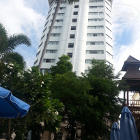 Фото отеля Jomtien Palm Beach 4* вид отеля