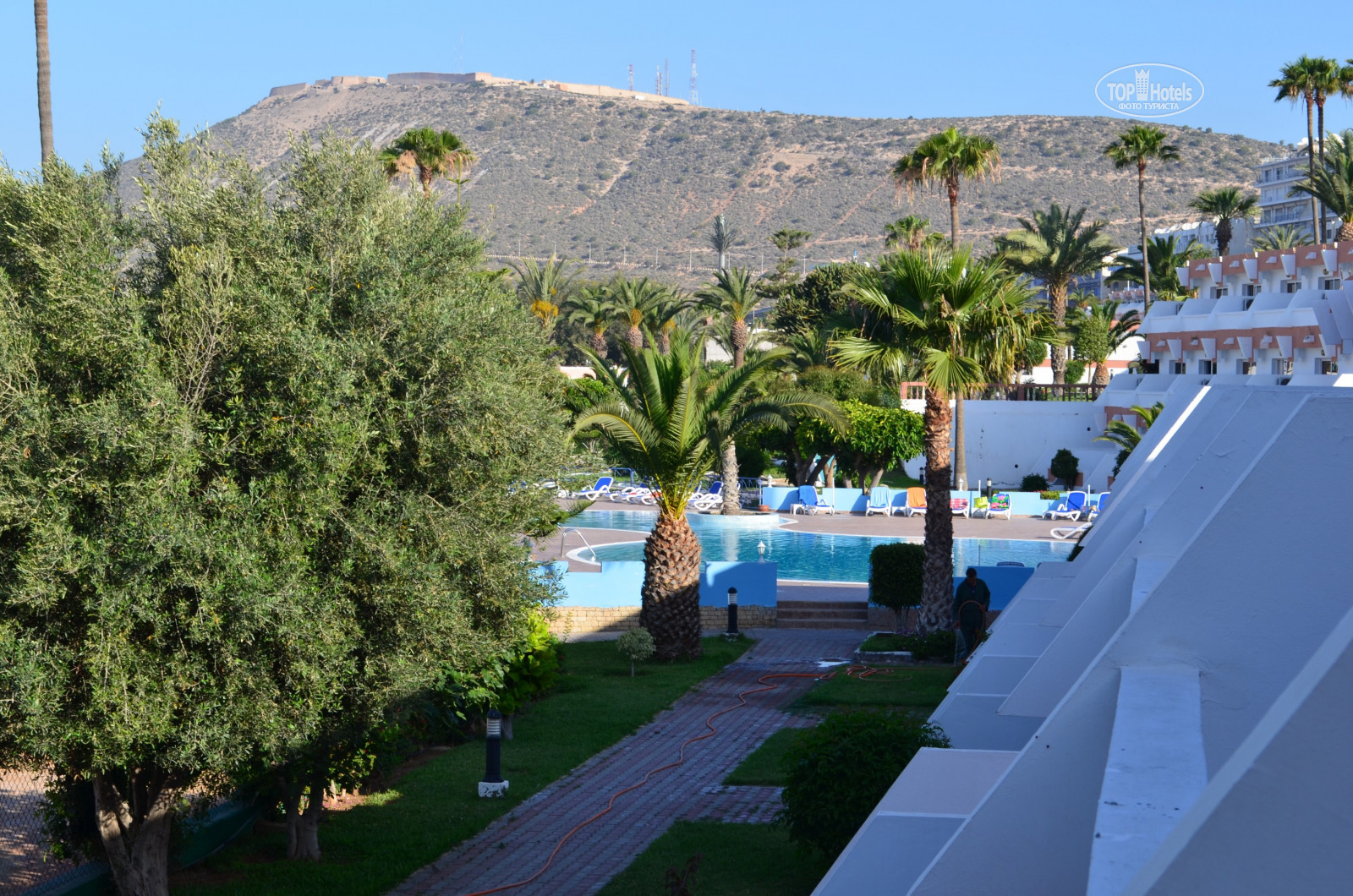 All photos: View from the room отеля Al Moggar Garden Beach Club 4 ...
