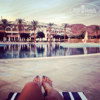 Фото отеля Movenpick Resort Taba 5* В отеле у бассейна