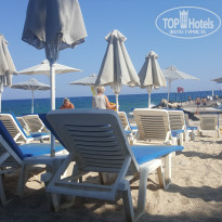Фото отеля AKS Annabelle Beach Resort 5* Лежаки на пляже