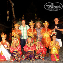 Фото отеля Bali Tropic Resort & Spa 5* Вечернее шоу