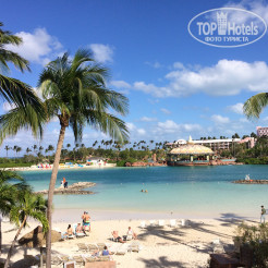 Пляж Atlantis Paradise Island Resort (Royal Tower)