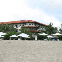 Фото отеля Grand Mirage Resort & Thalasso Bali 5* вид с моря