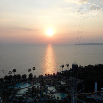 Фото отеля Pattaya Park Beach Resort 3* Вид из номера