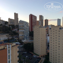 Фото отеля Port Benidorm 4* Вид с балкона на Бенидорм