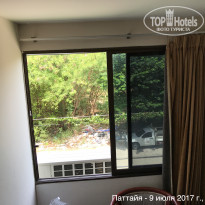 Фото отеля Welcome Jomtien Beach 3* вид из окна