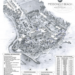 Карта отеля Messonghi Beach Holiday Resort