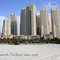 Фото отеля The Ritz Carlton Dubai 5* Вид с моря