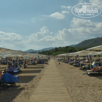 Фото отеля Club Hotel Phaselis Rose 5* Пляж..
