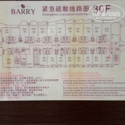 Карта отеля Barry Boutique