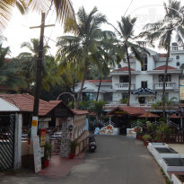 Фото отеля Sao Domingos Hotel Goa 2* улица к отелю