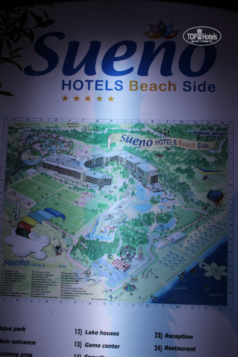 All photos Hotel map Sueno Hotels Beach 5 Rating of world