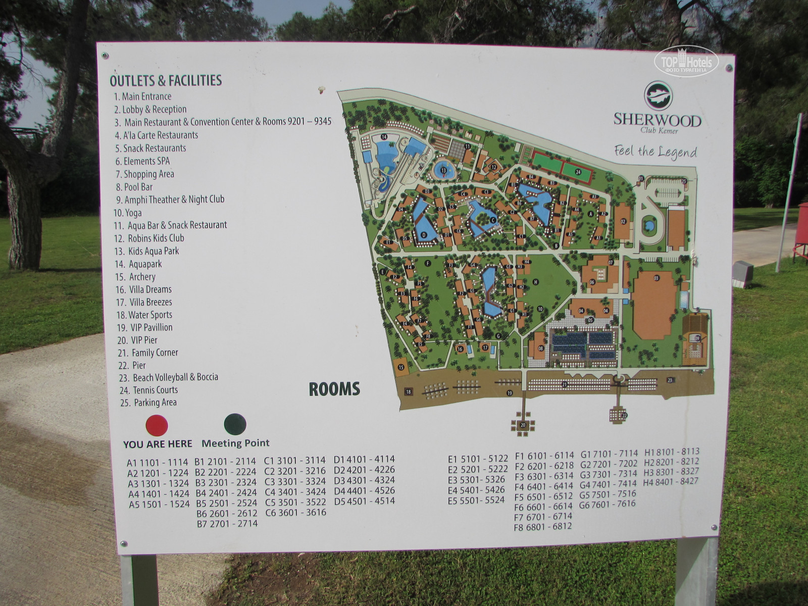 All photos Hotel map Sherwood Exclusive Kemer 5 Rating of